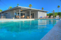 Mid-Century Modern home in Palm Springs 3BD 2BA - 6,000 Canadian