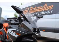 2015 - KTM RC125, LIKE BRAND NEW, 586 MILES, £3,250 OR FLEXIBLE FINANCE TO SUIT
