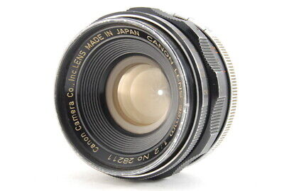 """""""DHL"""" """"Exc+++++"""" Canon 35mm F/2 LTM Leica L39 Screw Mount Lens From Japan D47"""