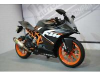 2016 - KTM RC 125 ABS 125CC, EXCELLENT CONDITION, £3,000 OR FLEXIBLE FINANCE