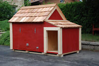 Dog Houses (professionally made for Canadian weather)