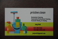 (PRISTINE CLEAN) Residential cleaning Cornwall.
