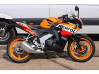 2013 - HONDA CBR125R, GREAT CONDITION, £2,650 OR FLEXIBLE FINANCE TO SUIT YOU