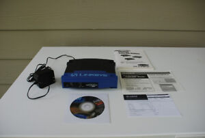 Linksys Router With 4 Port Switch (BEFSR41)