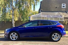 Ford Focus 1.0-litre EcoBoost, 123bhp, Six-speed Manual, A/C, DAB digital radio, Stop-start