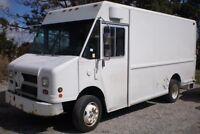 2002 FREIGHTLINER MT45 Step Van, diesel