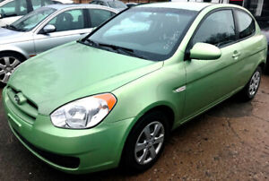 **SOLD**2009 Hyundai Accent GL HB Fuel Efficient! Certified