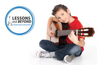 In Home Music Lessons in Oakville! Guitar Bass Piano Drums