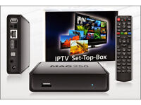 I.PTV Box with 12 month gift included , No need For Satellite or Cable