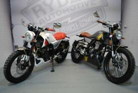 BRAND NEW - MONDIAL HPS125 HIPSTER 124CC, £3,499 OR FLEXIBLE FINANCE TO SUIT YOU