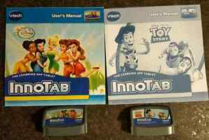 InnoTab Games And more- Disney Fairies, Toy Story