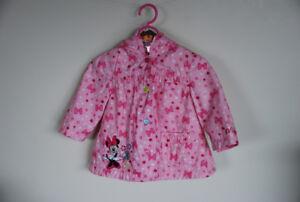 Minnie Mouse rain jacket Size 12-18 months