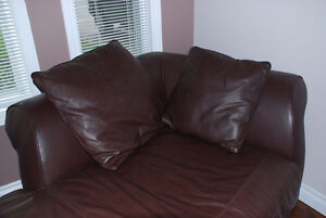 Perfect Condition Leather Chaise Lounge - Orleans