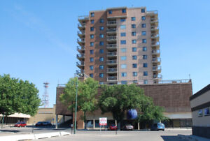 One bedroom suite at Landmark Apartments (515 - 6 St South)