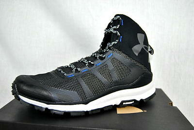 d21843f9258a UNDER ARMOUR Verge Mid Hiking Shoes Boots AUTHENTIC 1299434 001 Mens 11 US  NEW