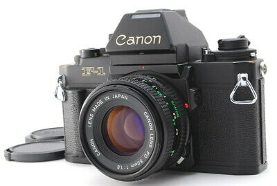 [EXC+++++] Canon New F-1 35mm SLR Camera w/NFD 50mm F1.8 Lens AEfinder Japan#FEE