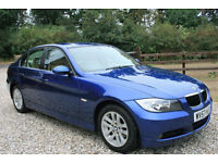 2007 (57) BMW 320I SE 4 DOOR 2.0L MANUAL SALOON WARRANTIED LOW MILEAGE FSH