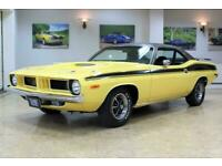 1973 Plymouth Cuda 340 V8 Auto - Comprehensive Restoration