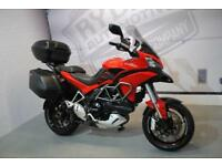2014 DUCATI MULTISTRADA 1200 S GRANTURISMO, IMMACULATE COND, £9,750 OR FINANCE
