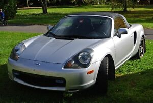 2002 Toyota MR2 Cabriolet, MRS Turbo, miata, decapotable, porsch