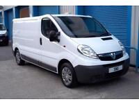 2011 Vauxhall Vivaro 2.0CDTI 2900 LWB_39k Miles_TAILGATE_TWIN SEATS_1 OWNER_A./C
