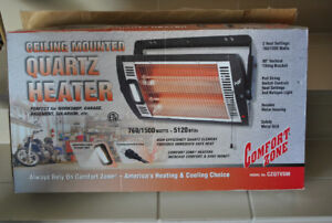Ceiling Mounted Quartz Heater (NEW in box)