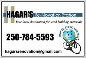 Hagar's Re-Novation Station Now Open Tuesday to Fri 12-6 Sat 9-3
