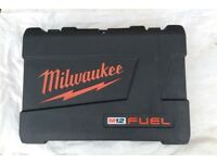 MILWAUKEE M12 FUEL BRAND NEW EMPTY CASE FOR SALE , PICK UP MY HOME ADDRESS, £19, NO OFFER,THX