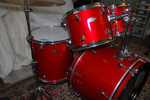 COMPLETE FULL SIZE DRUM SET PACKAGE w/ lots of upgrades