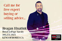 CALL ME FOR FREE EXPERT HOME BUYING OR SELLING ADVICE!