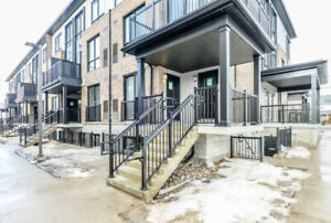 Brand new 2BR/3 Bath corner unit/townhouse available in Milton