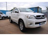 2010 - TOYOTA HILUX INVINCIBLE, 4X4 DOUBLE CAB, ONE OWNER - £10,000 (+ VAT)