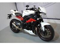 2015 TRIUMPH STREET TRIPLE R ABS, EXCELLENT CONDITION, £6,250 / FLEXIBLE FINANCE