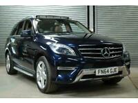 2014 Mercedes-Benz M Class ML250 CDi BlueTEC AMG Line 5dr Auto [Premium] ESTATE