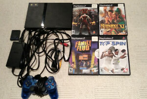 PlayStation 2 (includes 4 games)
