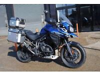 2017 TRIUMPH EXPLORER XCX 1215, IMMACULATE CONDITION, £12000 OR FLEXIBLE FINANCE