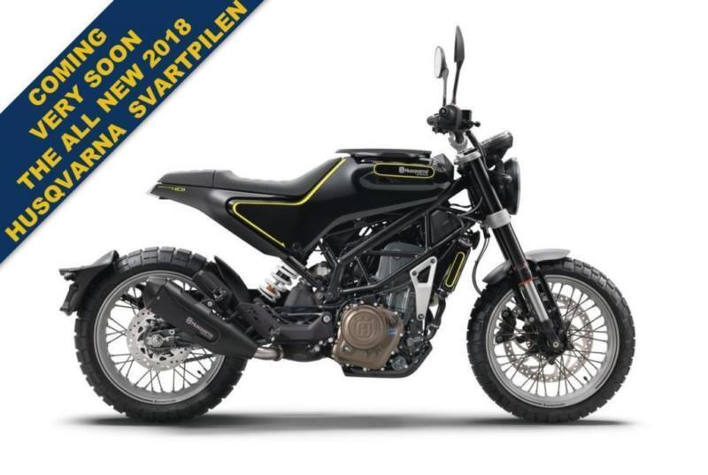 2017 HUSQVARNA SVARTPILEN 401 ***FANTASTIC NEW MODEL FOR 2018***
