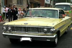 1964 Ford Galaxie 500 -Hard Top, Canary Yellow
