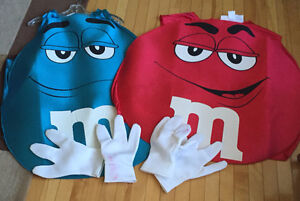 Red & Blue M&M Costumes