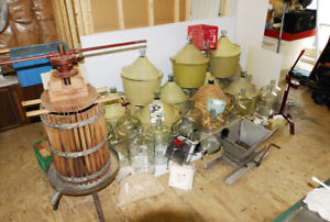 WINE MAKING EQUIPEMENT FOR SALE.