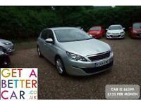2014 Peugeot 308 1.6 HDi 92 Active 5dr - CAR IS £6399 - £133 PER MONTH HATCHBACK
