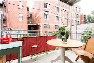 beau condo sur 2 etages - Mile End