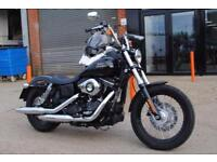 2017 HARLEY-DAVIDSON FXDB STREET BOB 1690CC, IMMACULATE CONDITION, £11,500