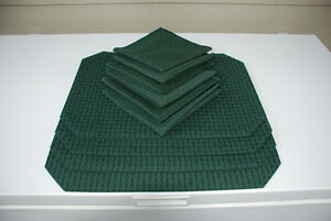 Tablecloths, Placemats, Napkins (green or white table linen sets
