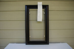 Custom Picture Frame 12x24 (black float #2012-046)