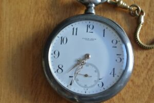 Ryrie bros/birks/longines movment silver pocket watch