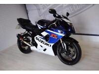 2005 SUZUKI GSXR 750 K5, GOOD CONDITION, £3,280, FRESH SERVICE 3 MTHS WARRANTY