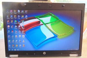 HP ELITEBOOK INTEL iCORE 5 2.40 GHZ REFURB LAPTOP WINDOWS 7 Peterborough Peterborough Area image 2