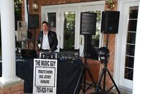 WEDDING OFFICIANT & DJ