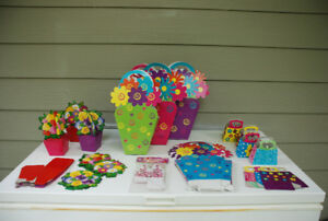 Flower-themed Candy/Treat/Hostess Gift Foldable Boxes (+ FREE GI